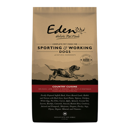 Eden Country Cuisine Sporting & Working Dog Food