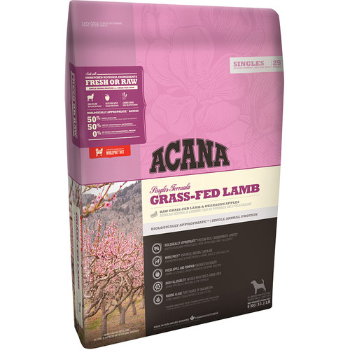 Acana Singles Grass Fed Lamb Dog Food