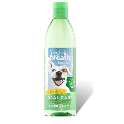 Tropiclean Water Additive fora doggy fresh breath
