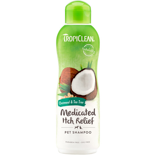Tropiclean oatmeal shampoo