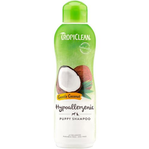 Tropiclean Gentle Coconut Hypoallergenic dog shampoo