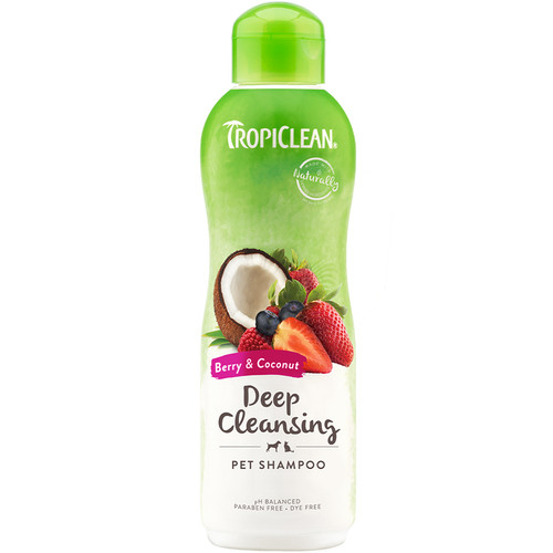 Berry & Coconut Shampoo by Tropiclean
