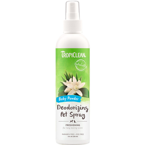 Tropiclean Baby Powder Deodorising spray