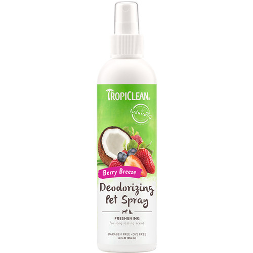 Tropiclean Berry Breeze deodorising spray