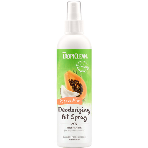 Tropiclean Papaya Mist Deodorising spray