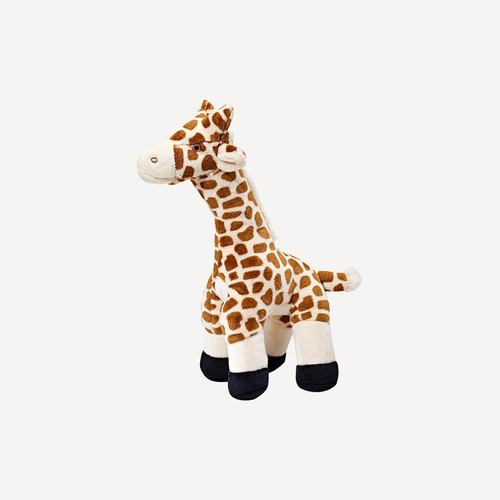 Fluff & Tuff Nelly Giraffe tough plush dog toy