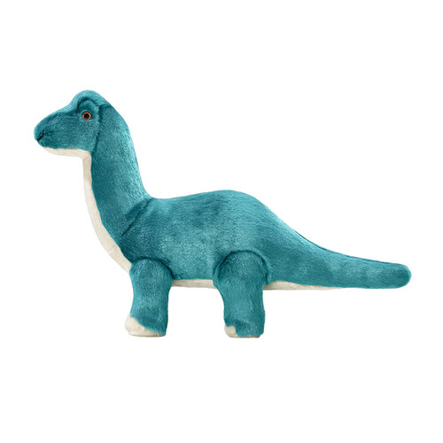 Fluff &Tuff Ross Brachiosaurus Dinosaur plush dog toy
