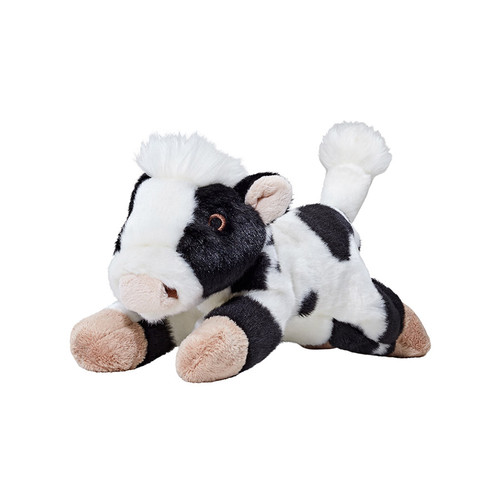 Fluff & Tuff Marge Cow Plush Dog Toy.