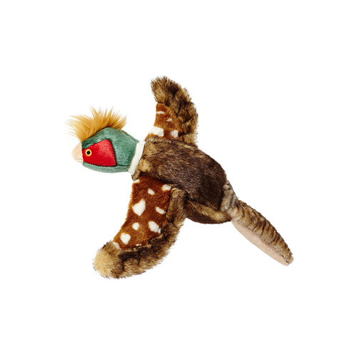 Fluff & Tuff Ike Pheasant Plush Dog Toy