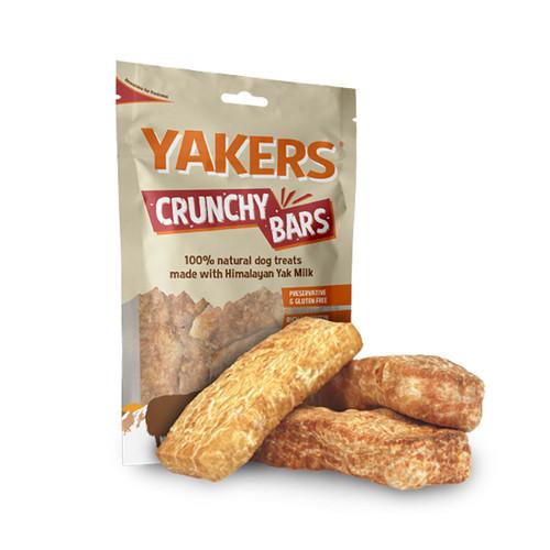 Yakers Crunchy Bars dog treat