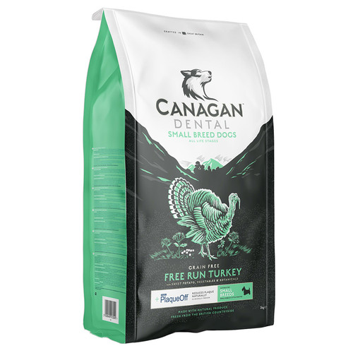 Canagan Small Breed Free Run Turkey Dental