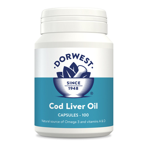Cod Liver Oil for Dogs by Dorwest