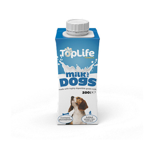 Toplife Goat Milk for dogs at K9Active