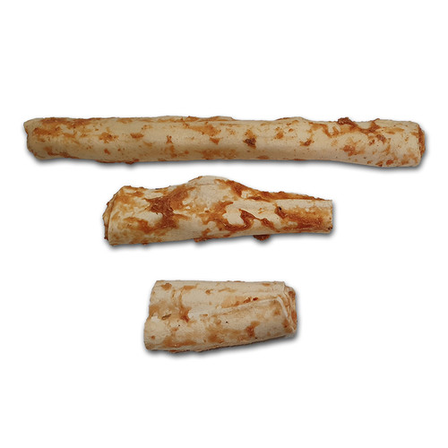 Earth Animal No Hide Salmon Flavoured chews Three Sizes