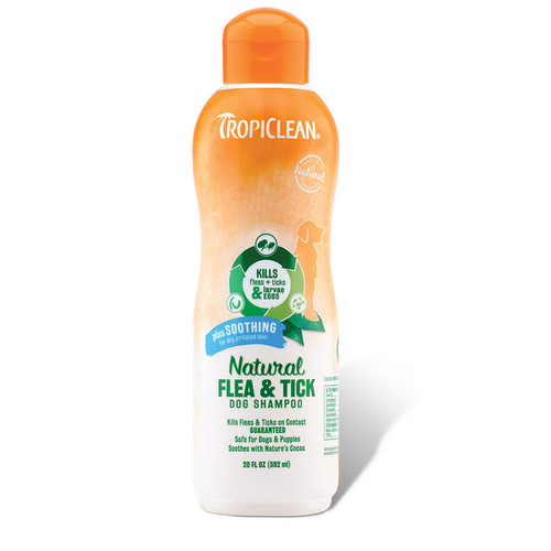 Flea and Tick Plus Soothing Shampoo by Tropiclean