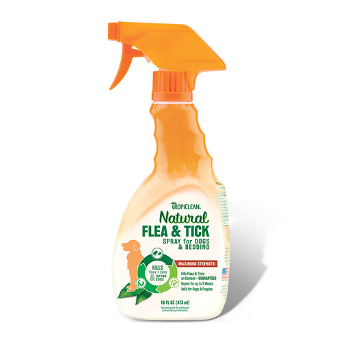 Tropiclean Flea and Tick spray for dogs and bedding
