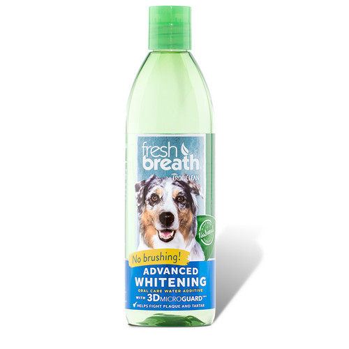 Tropiclean Advanced Whitening Water additive for dogs