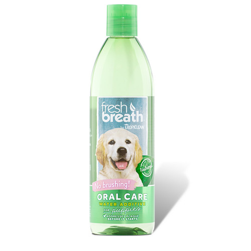 Tropiclean Puppy Oral Care water additive
