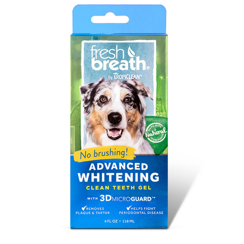 Tropiclean Oral Care Advanced Whitening Gel for dogs