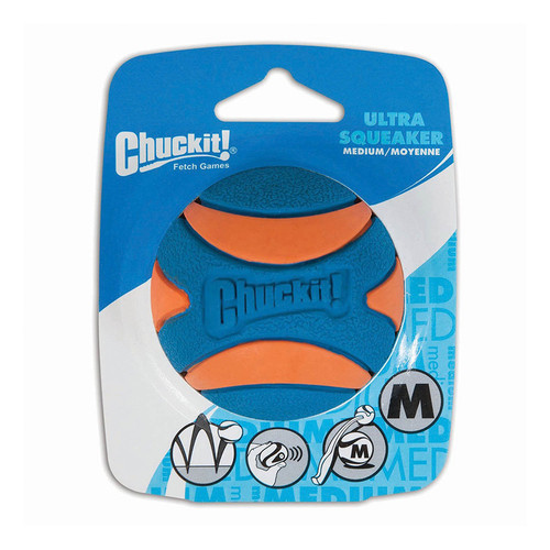 Chuckit Ultra Squeaker Ball Medium