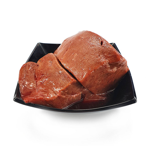 Liver Chunks by The RAW Factory, showing the chunks served in a bowl