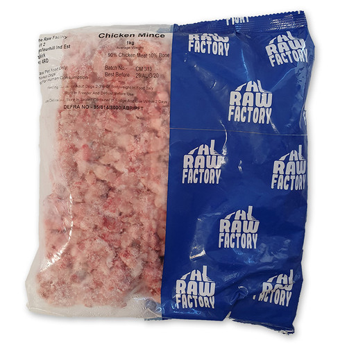 The RAW Factory Chicken Complete Mince 1kg