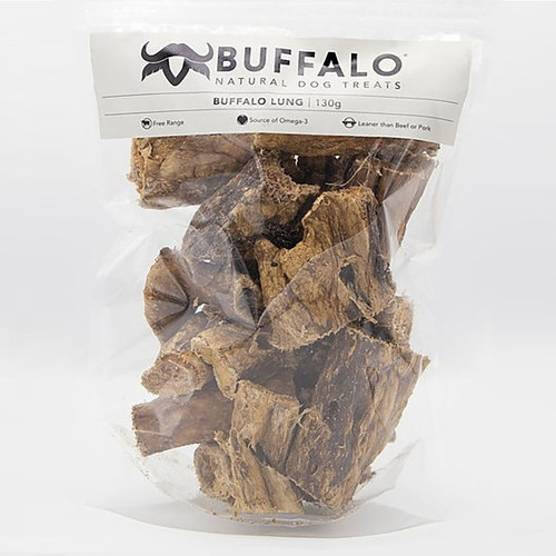 Buffalo Lung 130g Pack Dog Treat
