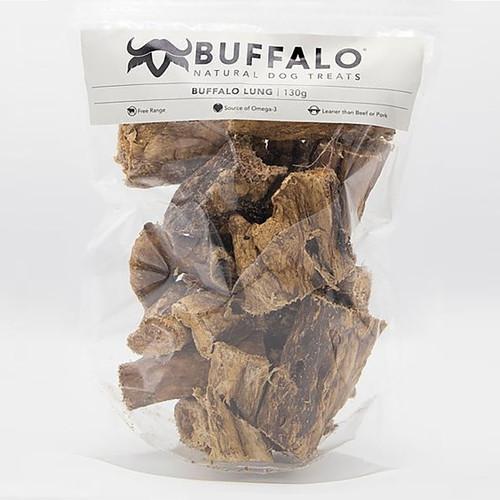 Buffalo Lung 130g Pack Dog Treat