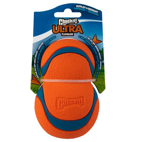 Ultra Tumbler by Chuckit!, showing ball in packaging