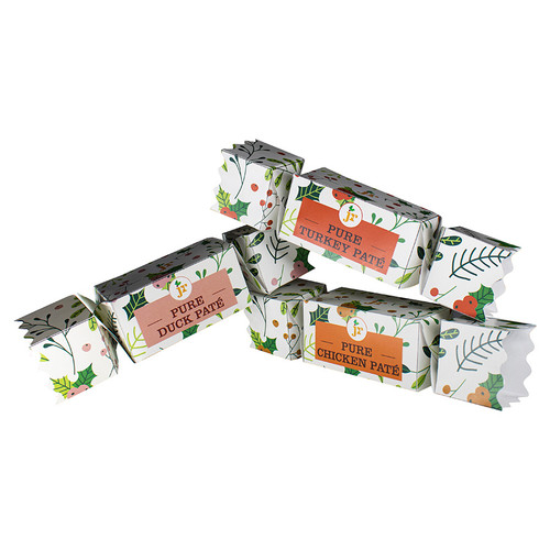JR Pets 3 Bird Christmas Crackers