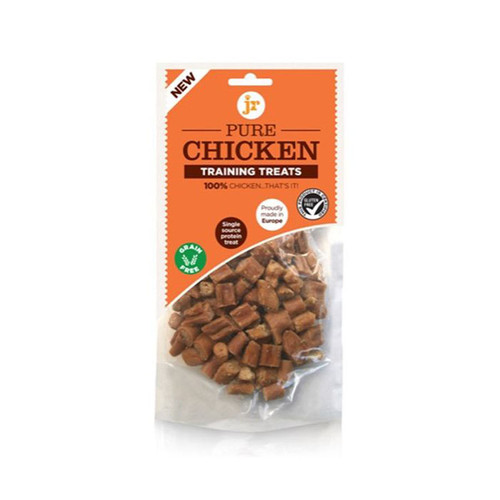 Pure Chicken Training Treats by JR Pet Products in a pack