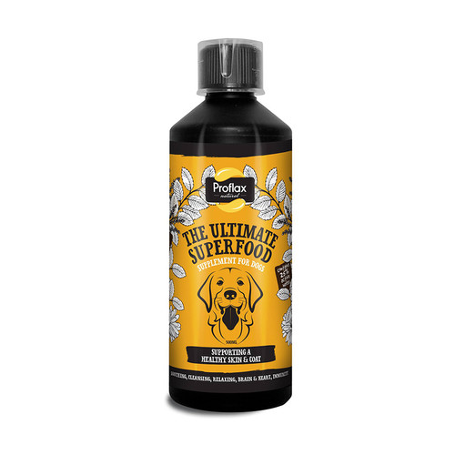 Skin & Coat natural supplement for dogs by Proflax