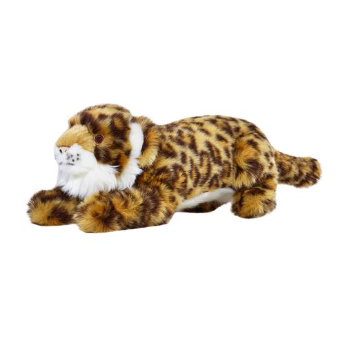 Lexy Leopard by Fluff & Tuff, side view