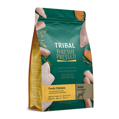Adult Chicken Fresh Pressed Dog Food by Tribal