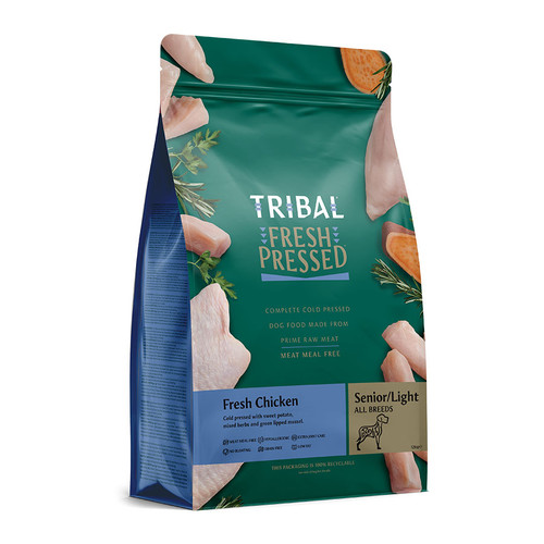 Tribal Fresh Pressed Food For Senior or Overweight Dogs