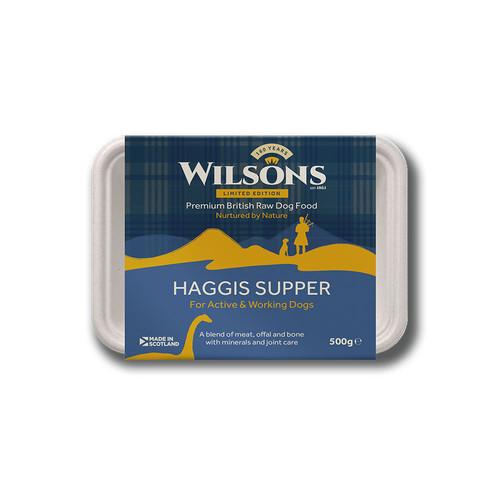 Haggis Supper Raw Dog Food by Wilsons