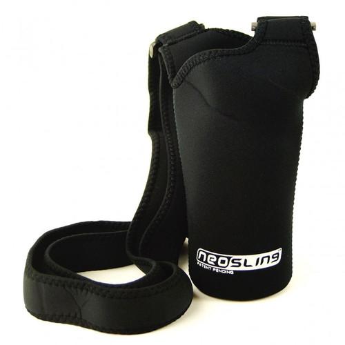 Black H2O4K9 Dog Water Bottle Neo Sling bottle Carrier