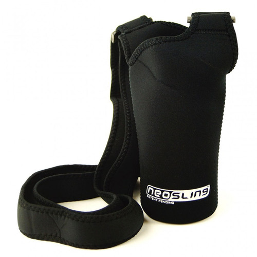 Black H2O4K9 Dog Water Bottle Neo Sling bottle Carrier