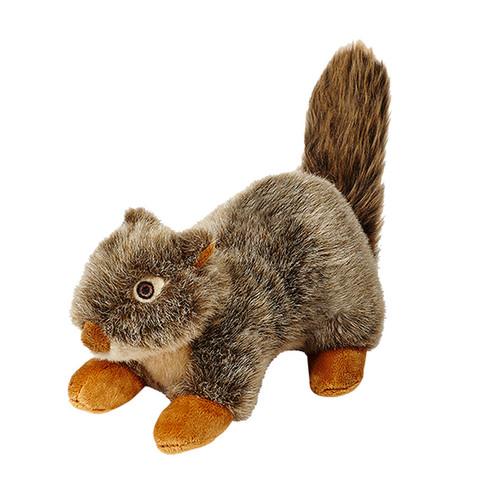 Fluff & Tuff Plush Nuts the Squirrel dog toy