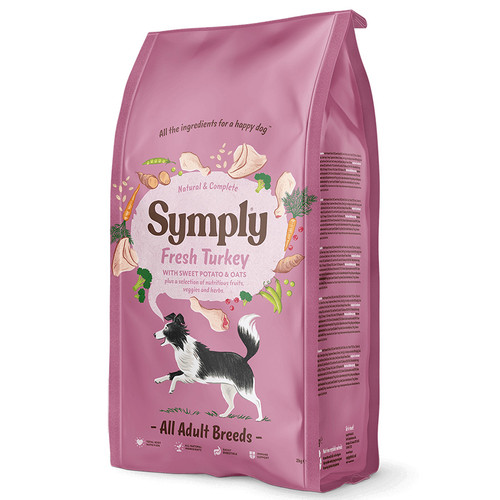 Symply Dog Food Adult Turkey