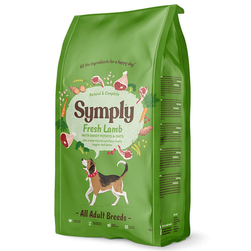 Symply Dog Food Adult Lamb