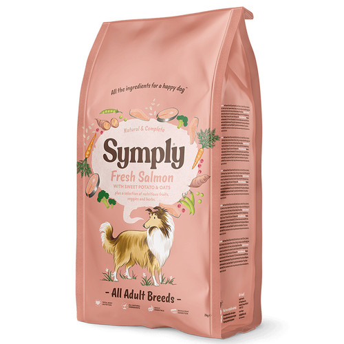 Symply Dog Food Adult Salmon