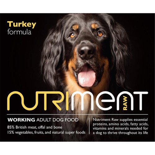 Nutriment Adult Turkey Formula