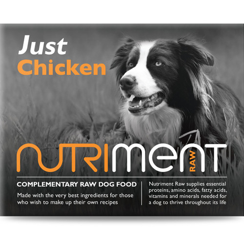 Just Chicken - Nutriment RAW Dog Food