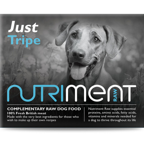 Just Tripe Nutriment RAW Dog Food