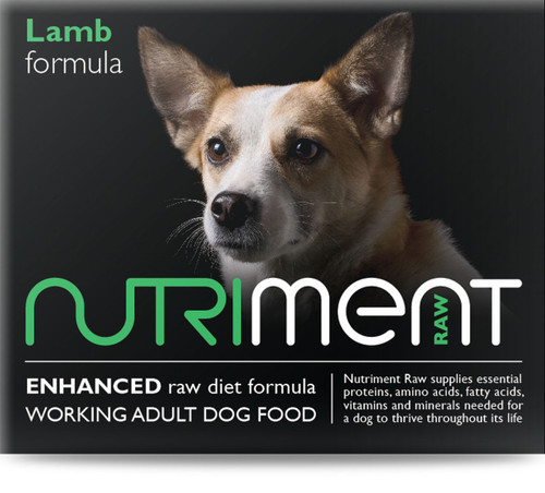 Lamb Formula - Nutriment RAW Dog Food