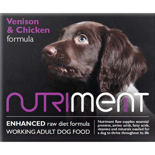 Venison and Chicken Formula by Nutriment