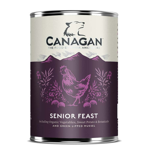 Canagan Tinned Senior Feast Dog Food