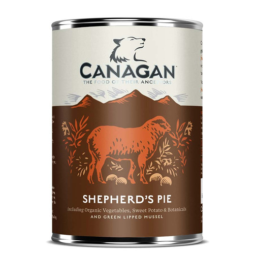Canagan Shpherds Pie Dog Food in Tins