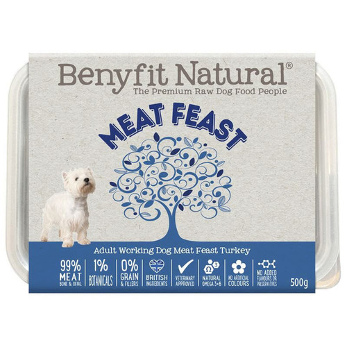 Benyfit Natural Meat Feast RAW Dog Food